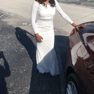 white formal dress. Special occasions/Prom dress